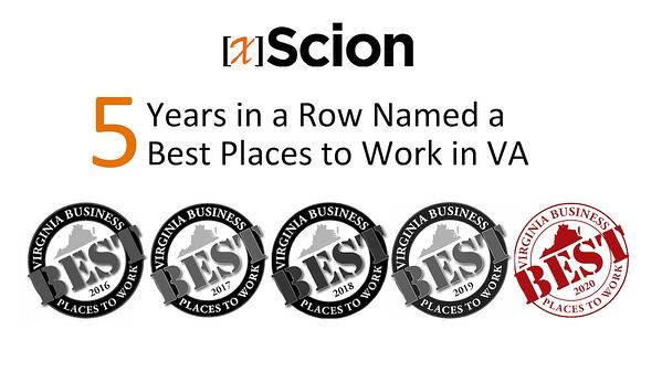 Best Places to Work 2020 5 Years